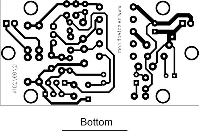 SMPS PCB Bot